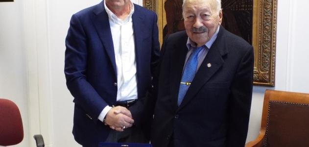 Τιμητική διάκριση στον κ. Παναγιώτη Βαβουγυιό από το Μετοχικό Ταμείο Πολιτικών Υπαλλήλων